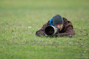 Beim Graureiher, 2015 (Foto: Flurin Leugger)