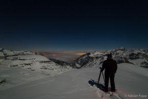 In den Schweizer Alpen, 2015 (Foto: Andi Hofstetter)